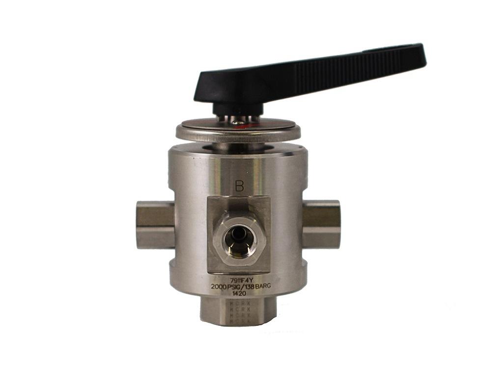 Item f y multimite series way valve on
