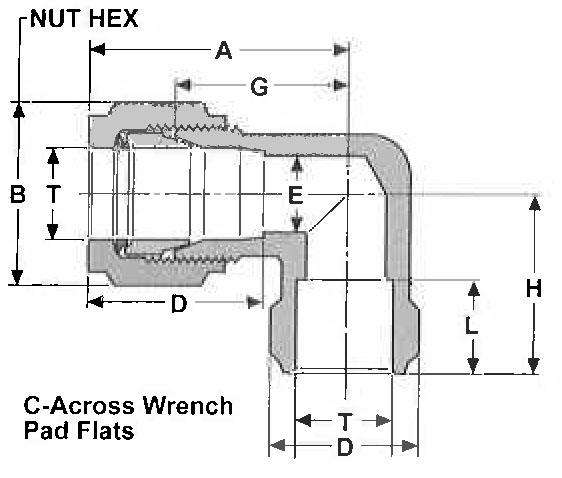 Item lw gyrolok tube socket weld elbow on