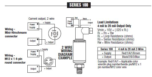100 series current output pressure transmitters on circle valve noshok 100 series wiring swarovskicordoba Choice Image