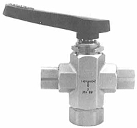 Hoke Ball Valve Selectomite 76 Series
