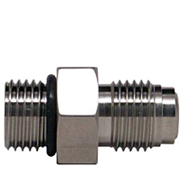 Truelok Face Seal to Male Straight Thready O-Ring Connector