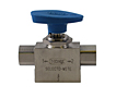 71 and 76 Series Hoke 3 way ball valve display image