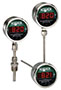 NOSHOK 820/821 Series Digital Temperature Indicators
